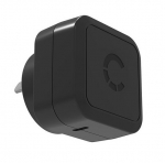 Cygnett Flow+ 3A 18W USB-C Universal Wall Charger with Power Delivery 2.0 - Black