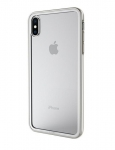 Cygnett Ozone Tempered Glass Protective Case for iPhone Xs and iPhone X - Silver