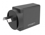 Cygnett PowerPlus 3A 18W Dual USB-C & USB-A Universal Quick Charge Wall Charger with 1.5m USB-C to USB-C Cable