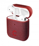 Cygnett Tekview Pod Protective Case with Wireless Charging for Apple AirPods (2nd Gen) - Red
