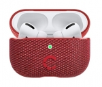 Cygnett Tekview Pod Protective Case with Wireless Charging for Apple AirPods Pro - Red