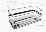 Cygnett Ozone Tempered Glass Protective Case for iPhone Xs Max - Silver