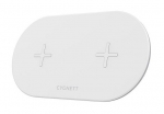 Cygnett TwoFold 20W Dual Wireless Charging Pad - White