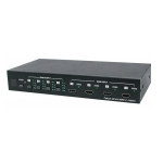 CYP HDMI 4 in 4 out Matrix Switch HDMI 1.3, HDCP 1.1 and DVI 1.0 compliant. Includes remote control