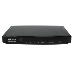 CYP HDMI 4 in 1 out Switch HDMI 1.3, HDCP 1.1 and DVI 1.0 compliant. Includes remote control
