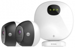 D-Link DCS-2802KT Wireless Indoor/Outdoor Camera Kit