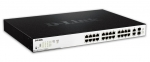 D-Link DGS-1100 24-Port PoE Managed Rackmount Switch