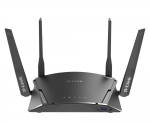 D-Link EXO DIR-1960 AC1900 Gigabit Smart Mesh Wireless Router + BONUS PowerLine Starter Kit by Redemption!