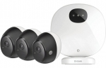 D-Link DCS-2803KT Omna 1080p Wireless Indoor/Outdoor Camera Kit - 3 Pack