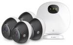 D-Link DCS-2804KT Omna 1080p Wireless Indoor/Outdoor Camera Kit - 4-Pack