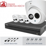 Dahua 4 Channel Digital Surveillance Kit - 1x 4ch DVR 1TB HDD, 4x 2MP Cameras