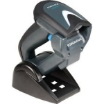 Datalogic Gryphon I GM4130 USB Scanner Kit Black With Base Station