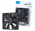 DeepCool XFAN120 120mm 3 and 4 pin connectors, 1300rpm Case/Power Supply Fan