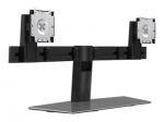 Dell MDS19 Dual Monitor Fee Standing Desk Stand for 19 to 27 Inch Flat Panel TVs or Monitors - Up to 6kg (per Monitor)