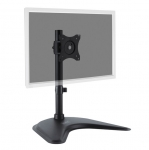 Digitus Single Monitor Desk Stand for up to 27 Inch Flat Panel TVs or Monitors - Up to 10kg + FREE Keyboard Wrist Rest!