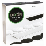 Dixon Hook & Loop 22mm White Spots - 225 Pack