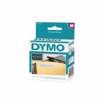 DYMO LW 25mm x 54mm Black on White Return Address Label Roll