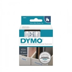 DYMO D1 12mm Blue on White Standard Label Tape Cassette