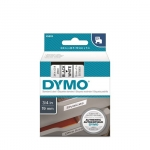DYMO D1 19mm Black on White Standard Label Tape Cassette