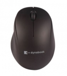 Dynabook T120 Wireless Optical Mouse - Matte Black