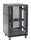 Dynamix SR Series 18RU 600mm Deep Black Server Cabinet - 600x600x988mm