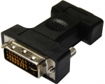 Dynamix DVI-I 24+5 Male to HD15 VGA Female Adapter