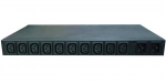 Dynamix 10 Port Automatic Transfer Switching Power Distribution Unit with Dual 16A Input & 10x C13 10A Outlets