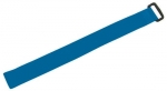 Dynamix 300mm x 20mm Velcro Cable Ties BLUE (Pack of 10)