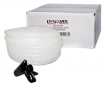 Dynamix Easy Wrap 20m x 15mm Clear Cable Management Solution - Includes Tool