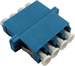 Dynamix Fibre LC/ LC Quad Single mode Joiner, PhBr sleeve - Blue