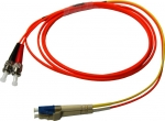 DYNAMIX 2M LC/ST Mode Conditioning Lead. Single Mode transmit on LC