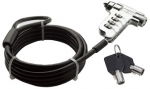 Dynamix Locking Security Cable for use with Kensington Security Slot - Lock & Key (1.8M cable)