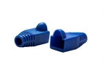 Dynamix RJ-45 Blue 6.0mm Strain Relief Boot - 20 Pack