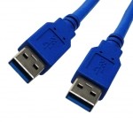 Dynamix 1M USB 3.0 Type A Male to Type A Male Cable