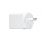 Dynamix USB-C Universal Compact Wall Charger with 18W Power Delivery - White