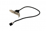 Dynamix 1 Port USB Small Form Factor Bracket