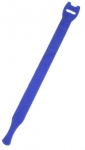 Dynamix Hook & Loop Blue 200mm x 13mm Cable Ties - 10 Pack