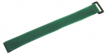 Dynamix 300mm x 20mm Velcro Cable Ties GREEN (Pack of 10)