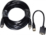 Dynamix 15M VGA Male/Male Cable with Pull Ring