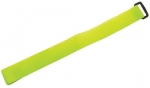 Dynamix Hook & Loop Yellow 300mm x 20mm Cable Ties - 10 Pack