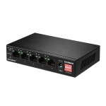 Edimax ES-5104PH V2 Long Range 5-Port Fast Ethernet Un-Managed Switch with 4 PoE+ Ports & DIP Switch