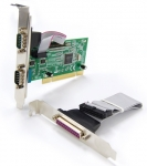 Dynamix EMT PCI Single Parallel Dual Serial Card