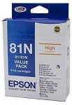 Epson Claria 81N High Yield Ink Cartridge Value Pack