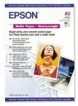 Epson S041261 Matte A3 167gsm Heavy Weight Presentation Paper - 50 Sheets