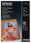 Epson S042545 Glossy 5x7 200gsm Photo Paper - 50 Sheets