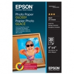 Epson S042546 Glossy 4x6 200gsm Photo Paper - 20 Sheets