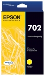 Epson DuraBrite Ultra 702 Yellow Ink Cartridge