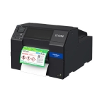 Epson ColorWorks CW-C6510P 8 Inch Ethernet USB Inkjet Label Printer with Auto-Cutter and Peeler