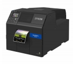 Epson ColorWorks CW-C6510A 8 Inch Ethernet USB Inkjet Label Printer with Auto-Cutter