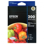 Epson 200 DURABrite Ultra 200 Ink Cartridge - CYMB 4 Pack